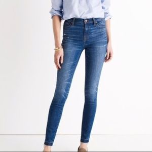Madewell High Rise Jeans 25